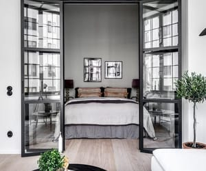 bedroom, interior, and design image