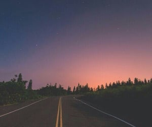 road, sky, and wallpaper image