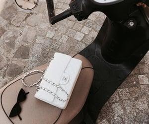 bag, chanel, and sunglasses image
