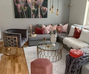 decor, grey, and home image