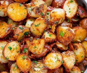 drink, food, and potatoes image