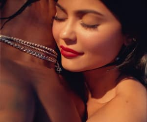 kylie jenner, travis scott, and trylie image