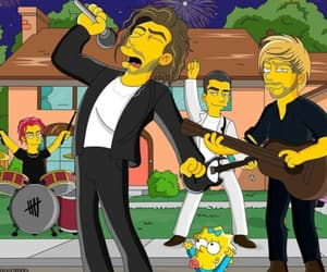 concert, new, and the simpsons image