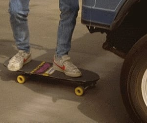 Back to the Future, gif, and skate image