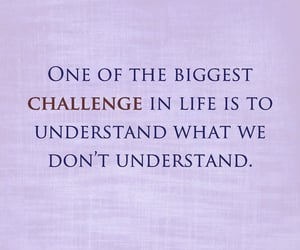 challenge, life, and quote image