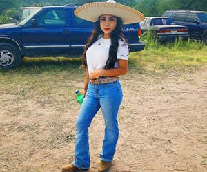 mexico, charra, and sombrero image