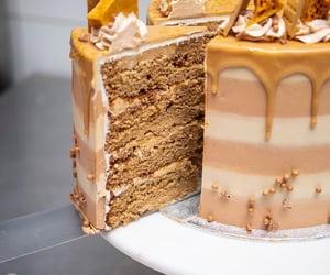 bakery, cake, and caramel image