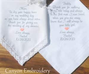 embroidered, mother of the bride, and weddinggift image