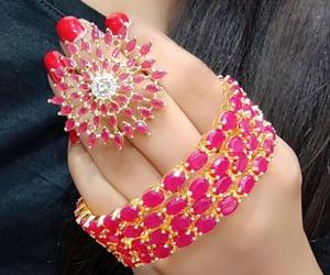 bangles, girl, and fashion image