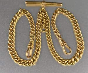 chain, intage, and necklace image