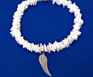 angel, hawaiian, and sea shell image