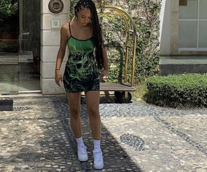 green, cute outfit, and outfit image