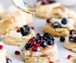 biscuits, flaky, and buttermilk image