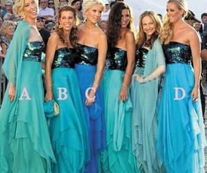follow me, wedding party dress, and chiffon bridesmaid dress image