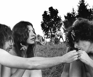 1969, hippies, and foto image
