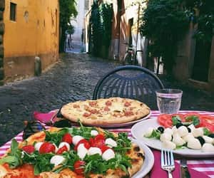 pizza, food, and italy image