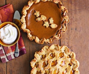 autumn, food, and pie image