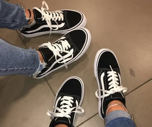 black, high tops, and shoes image