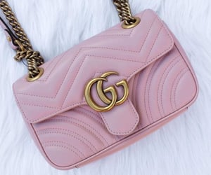 gucci, pink, and bag image