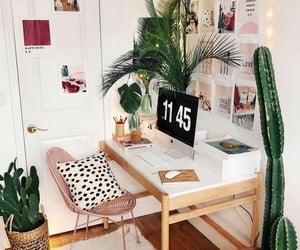 desk, room, and goals image