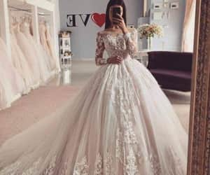 blanche, mariage, and wedding image