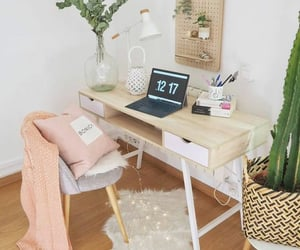 bedroom, desk, and inspiration image