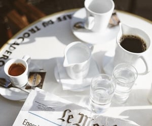 cafe, coffee, and france image