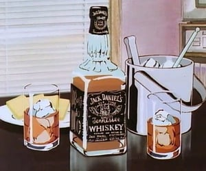 anime, drink, and jack daniels image