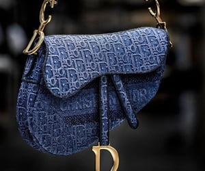 accessory, blue, and dior image