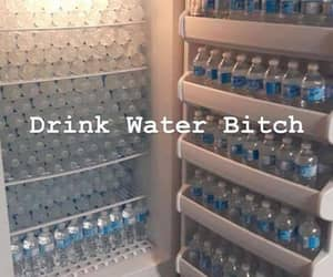 water and fridge image