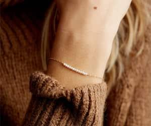 bracelet, pearl brACELET, and gift ideas for her image