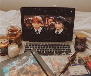 autumn, film, and harry potter image