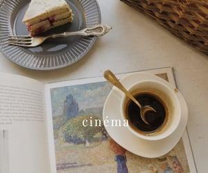 art, cafe, and cake image