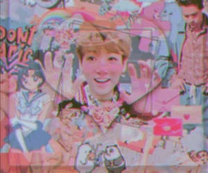 cyber, cute, and jungkook image
