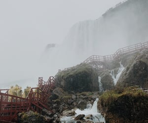 falls, thoughts, and travelling image