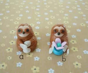 etsy, gifts, and sloth figurine image