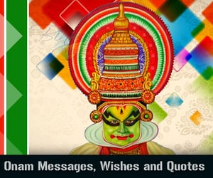 graphic design, greeting cards, and onam wishes image