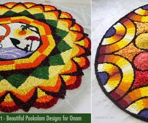 inspiration, pookalam designs, and onam kolam image