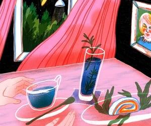 art, pink, and still life image