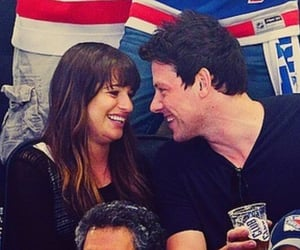couple, finn hudson, and glee image