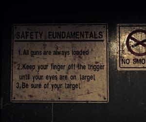 bunker, dark, and no smoking image