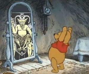 satan, winnie the pooh, and Devil image