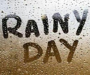 rain, rainy day, and rainy image