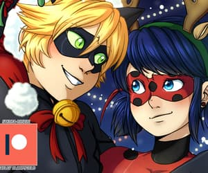 Chat Noir, adrien agreste, and christmas image