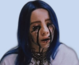 billie eilish, when the party's over, and billie image