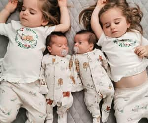 babies, twins, and cute image