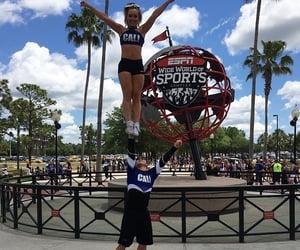 base, cali, and cheerleading image