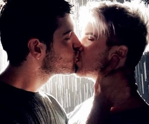 kiss, love is love, and lgbtq+ image