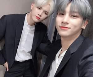 x1, kim wooseok, and cho seungyoun image