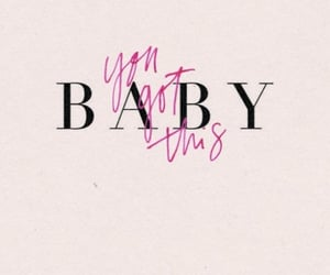 baby, text, and inspiration image